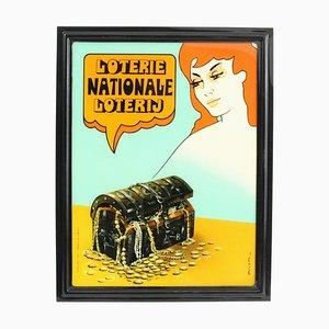 Vintage Werbeschild von Prion für Otten Plastic, 1970er