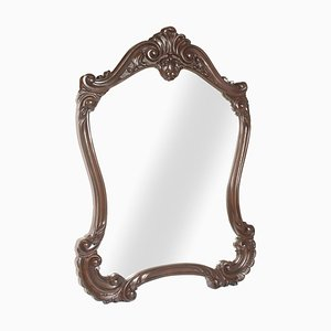 Antique Baroque Style Carved Wall Mirror