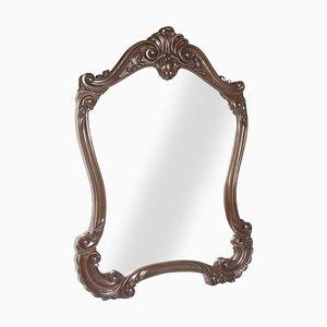 Specchio da parete in stile barocco antico intagliato