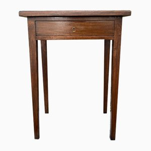 Antique Chestnut Side Table