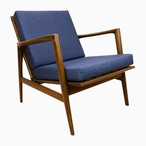 Model 300-139 Armchair from Swarzedzka Furniture Factory, 1960s