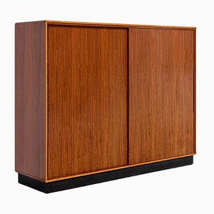 Bubinga Wood Wardrobe by Alfred Hendrickx for Belform, 1950s