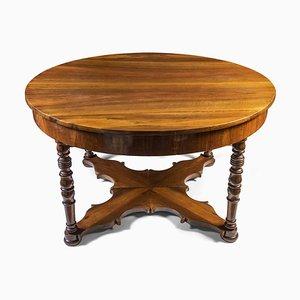 Antiker Esstisch aus Nussholz