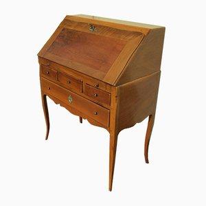 Großer antiker Schreibtisch aus Kirschholz