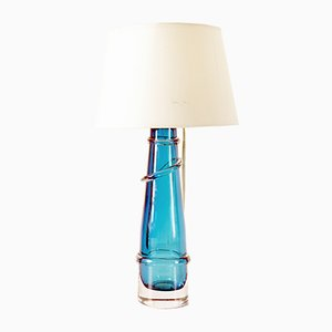 Swedish Table Lamp from Orrefors, 1960s