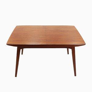 Ausziehbarer Esstisch aus Teak von Louis van Teeffelen für WéBé, 1960er