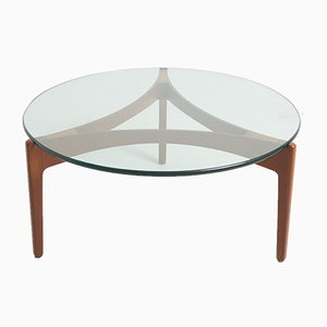 Tripod Coffee Table by Sven Ellekaer for Christian Linneberg, 1960s