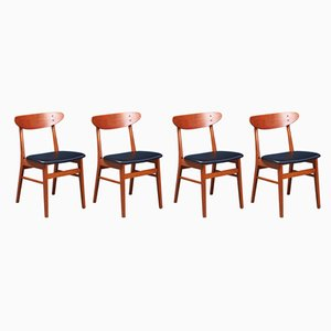 Mid-Century Danish Dining Chairs from Farstrup Møbler, Set of 4
