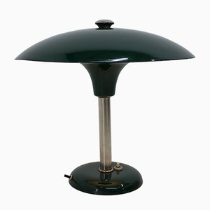 Art Deco Green Table Lamp by Max Schumacher, 1930s