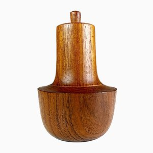 Danish 2-in-1 Teak Pepper Mill and Salt Shaker by Richard Nissen for Nissen, 1960s