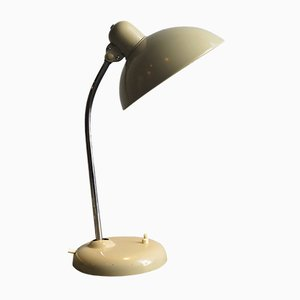 German Industrial Metal Table Lamp, 1950s