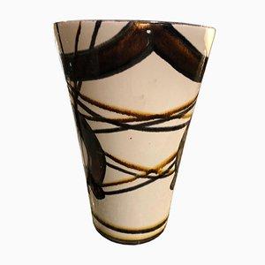 Grand Vase Mid-Century de Saint Clément, années 50