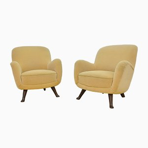 Vintage Armchairs from Berga Mobler, Set of 2