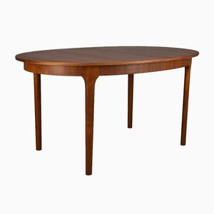 Mid-Century Oval Dining Table from McIntosh, 1960s