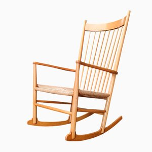 Rocking Chair by Hans J. Wegner for Fredericia, 1960s