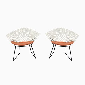 Lounge Chairs by Harry Bertoia for Knoll Inc. / Knoll International, 1950s, Set of 2