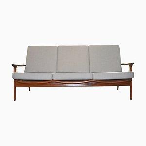 Sofa mit Gestell aus Palisander von Guy Rogers, 1960er
