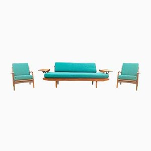 Sofas by R.W Toothill for Reg Toothill, 1960s, Set of 3