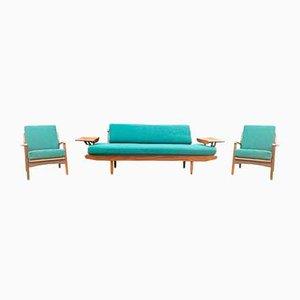 Sofas von RW Toothill für Reg Toothill, 1960er, 3er Set