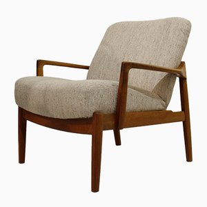Mid-Century Model 135 Teak Lounge Chair by Tove & Edvard Kindt-Larsen for France & Søn/France & Daverkosen