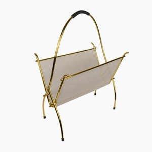 Brass Magazine Rack, 1960s