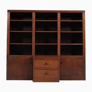Art Deco Dutch Oak Cabinet, 1920s