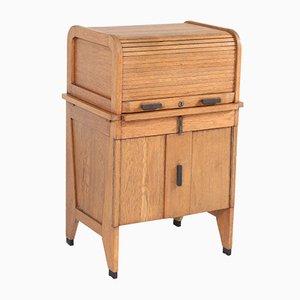 Art Deco Dutch Oak Desk from Allan & Co., 1920s