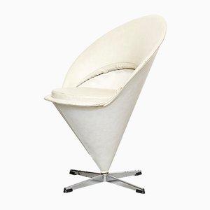 Vintage Gray Swivel Chair by Verner Panton for Gebrüder Nehl, 1960s
