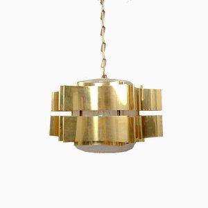 Lámpara colgante escandinava vintage, años 60