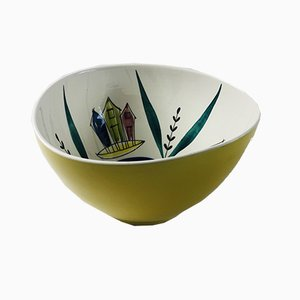 Porcelain Bowl by Inger Waage for Stavangerflint, 1950s