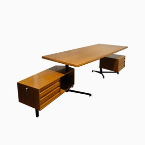 T95 Desk by Osvaldo Borsani for Tecno, 1950s