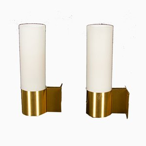 Danish Sconces by Jørgen Bo for Fog & Mørup, 1960s, Set of 2