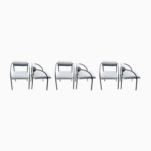 Italian Dining Chairs by Rodney Kinsman for Bieffeplast, 1980s, Set of 6