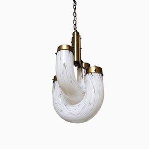 Pendant Lamp by Aldo Nason for Mazzega, 1960s
