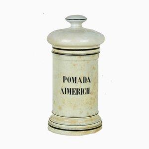 Bouteille Pomada Aimerich Pharmaceutique, années 50