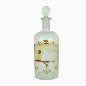 Creosote Pharmacy Bottle, 1940s