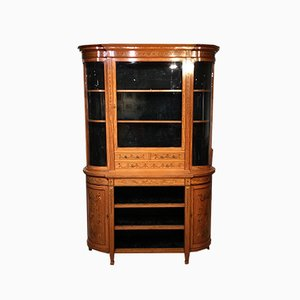 Antiker viktorianischer Schrank aus Seidenholz von Gillows