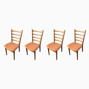 Vintage German Dining Chairs, Set of 4