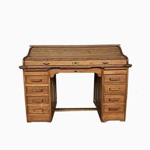 Vintage American Oak Work Table
