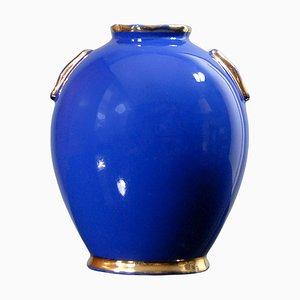 Vase Vintage par R. Chevalier pour Boch Frères, Belgique