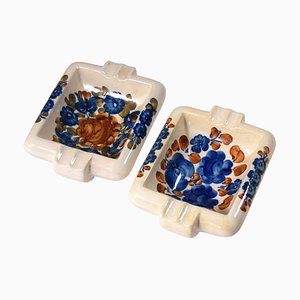 Vintage Polish Ashtrays from Włocławek, 1970s, Set of 2
