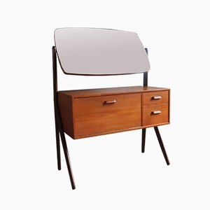 Mid-century Danish Teak Dressing Table from Ølholm Møbelfabrik, 1960s