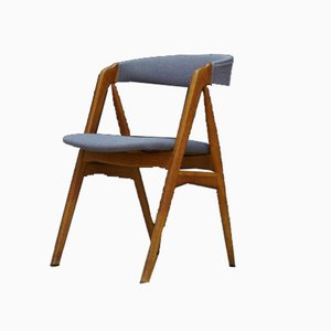 Chaise de Salle à Manger en Teck par T. H. Harlev pour Farstrup Møbler, années 60