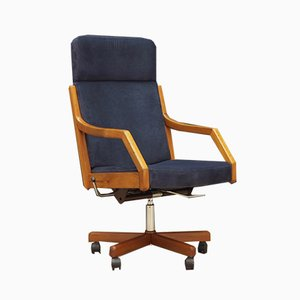 Danish Swivel Armchair from P.Schultz & Co, 1960s