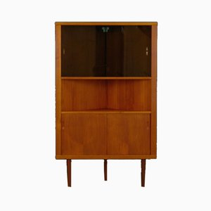 Vintage Danish Corner Cabinet, 1960s