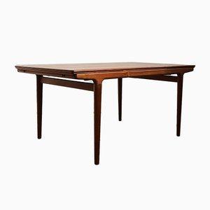 Table de Salle à Manger Mid-Century en Teck par Johannes Andersen pour Uldum Møbelfabrik, Danemark, années 50