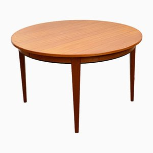 Mid-Century Danish Teak Model 55 Dining Table from Omann Jun, 1960s