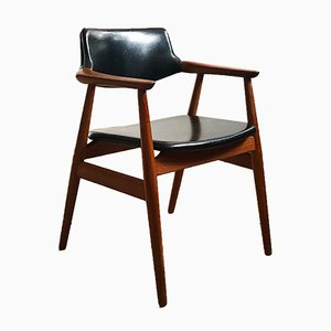 Mid-Century Danish Teak Model GM11 Armchair by Svend Åge Eriksen for Glostrup, 1960s