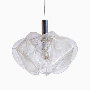 Lámpara colgante de metacrilato de Paul Secon para Sompex, años 60