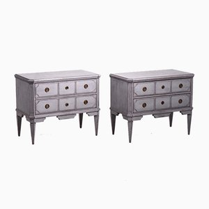 19th Century Gustavian Dressers, Set of 2